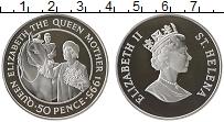 Изображение Монеты Великобритания Остров Святой Елены 50 пенсов 1995 Серебро Proof