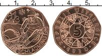 Изображение Мелочь Австрия 5 евро 2013 Медь UNC