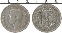 Изображение Монеты Австралия и Океания Новая Зеландия 1/2 кроны 1943 Серебро VF