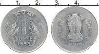Изображение Монеты Индия 1 рупия 1998  XF-