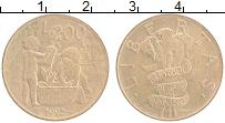 Изображение Монеты Сан-Марино 200 лир 1995  UNC- Играющие дети