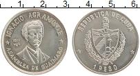 Изображение Монеты Куба 1 песо 1977 Медно-никель UNC-