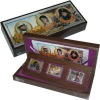 Изображение Подарочные монеты Острова Кука Война и мир 2012 Серебро Proof