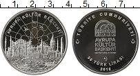 Изображение Монеты Турция 50 лир 2010 Серебро Proof- Европейская культура