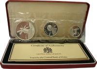 Изображение Подарочные монеты Мальта Набор 1977 года 1977 Серебро Proof