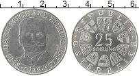 Изображение Монеты Европа Австрия 25 шиллингов 1972 Серебро XF