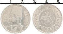 Изображение Монеты Египет 5 пиастров 1937 Серебро XF