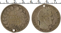 Изображение Монеты Европа Франция 5 франков 1833 Серебро