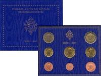 Изображение Подарочные монеты Ватикан Евронабор 2007 2007  UNC