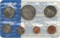 Изображение Подарочные монеты Новая Зеландия Годовой набор 1979 года 1979  UNC