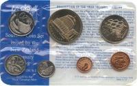 Изображение Подарочные монеты Новая Зеландия Годовой набор 1978 года 1978  UNC