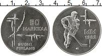Изображение Монеты Финляндия 50 марок 1982 Серебро UNC-