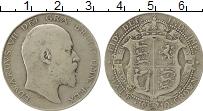 Изображение Монеты Европа Великобритания 1/2 кроны 1910 Серебро VF