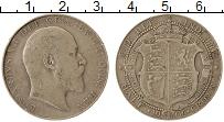 Изображение Монеты Европа Великобритания 1/2 кроны 1906 Серебро VF