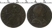 Изображение Монеты Европа Великобритания 1/2 пенни 1775 Медь VF