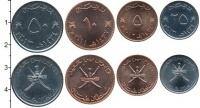 Изображение Наборы монет Оман Оман 2011-2013 0  AUNC В наборе 4 монет ном