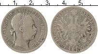 Изображение Монеты Европа Австрия 1 флорин 1885 Серебро XF
