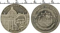 Изображение Монеты Африка Либерия 10 долларов 2005 Медно-никель UNC