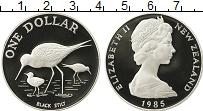 Изображение Монеты Австралия и Океания Новая Зеландия 1 доллар 1985 Серебро Proof-
