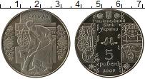 Изображение Монеты Украина 5 гривен 2009 Медно-никель UNC Стельмах.
