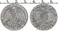 Изображение Монеты ФРГ 10 марок 1987 Серебро UNC-