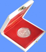 Изображение Подарочные монеты Ватикан Понтифик Иоанн Павел 1995 Серебро
