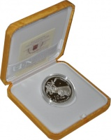 Изображение Подарочные монеты Ватикан 10 евро 2009 Серебро Proof