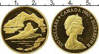 Изображение Монеты Канада 100 долларов 1980 Золото Proof-
