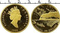 Изображение Монеты Северная Америка Канада 200 долларов 1996 Золото XF