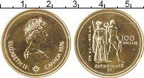 Изображение Монеты Северная Америка Канада 100 долларов 1976 Золото UNC