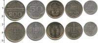 Изображение Наборы монет Монголия Монголия 1994-2001 0  XF-