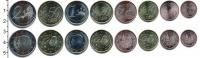 Изображение Наборы монет Испания Испания 2012-2016 0  UNC В наборе 8 монет ном