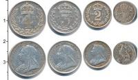 Изображение Наборы монет Европа Великобритания Маунди сэт 1894 (Благотворительный набор) 1894 Серебро Prooflike