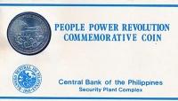 Изображение Подарочные монеты Филиппины 10 песо 1988 Никель UNC