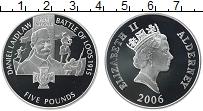 Изображение Монеты Великобритания Олдерни 5 фунтов 2006 Серебро Proof