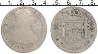 Изображение Монеты Боливия 8 реалов 1800 Серебро VF