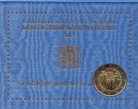 Изображение Подарочные монеты Ватикан 2 евро 2012 Биметалл UNC Подарочная монета по