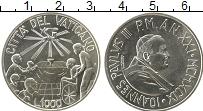 Изображение Монеты Ватикан 1000 лир 1999 Серебро XF Иоанн Павел II