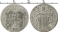 Изображение Монеты Европа Ватикан 1 гроссо 1748 Серебро VF