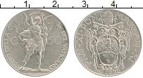 Изображение Монеты Ватикан 50 сентим 1932 Медно-никель XF