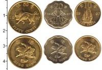Изображение Наборы монет Гонконг Гонконг 1997 1997  UNC-