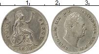 Изображение Монеты Европа Великобритания 4 пенса 1936 Серебро XF