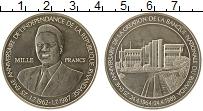 Изображение Монеты Руанда 1000 франков 1989 Серебро UNC