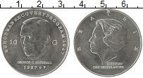 Изображение Монеты Европа Нидерланды 10 гульденов 1997 Серебро UNC-