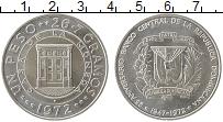 Изображение Монеты Северная Америка Доминиканская республика 1 песо 1972 Серебро UNC-