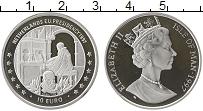 Изображение Монеты Остров Мэн 10 евро 1997 Серебро Proof- Президентство  Нидер