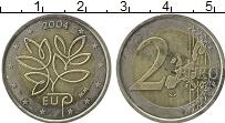 Изображение Монеты Европа Финляндия 2 евро 2004 Биметалл UNC-