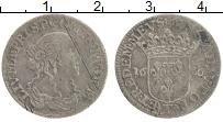 Изображение Монеты Домбе 1/12 экю 1666 Серебро VF
