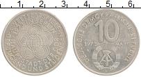 Изображение Монеты ГДР 10 марок 1973 Медно-никель UNC- Фестиваль