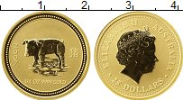 Изображение Монеты Австралия и Океания Австралия 25 долларов 2007 Золото Proof